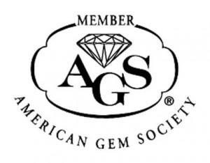 Logo for the American Gem Society, Member